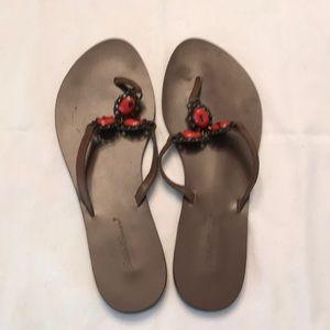 Eddie Bauer 7.5 Coral Stone Sandal